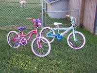"I have two 20"" girls bicycles for sale. Both are in"