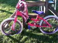 Next girls bike. Needs new tires. Everything else looks