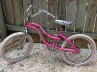 "Dynacraft Model 8534-76L 20"" Girls Bicycle. Pink with"