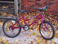 Up for sale is a: - Girls 20'' Murry Mountain Climber,