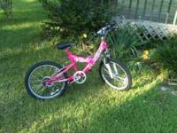 "For sale 20"" Pacific Evolution Girl's Mountain Bike."