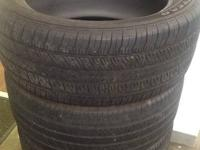 I am selling a set of four Goodyear Eagle RS-A tires. I