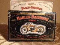 I have a Harley Davidson limited edition playing cards