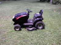 I have this Husee Limited Edition estate mower for
