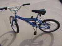 "For Sale 20"" Huffy Bike with hand brakes. Asking"