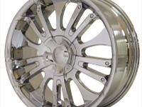 "Selling (4) 20"" in. 886 AWI Chrome rims. Rim/Wheel sz"