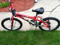 I have a 20 in Mongoose Freestyle BMX bike in great