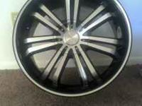 I have the set of rims very nice five lug size 20 any