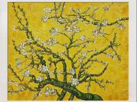 Hand-Painted oil reproduction of a famous Van Gogh