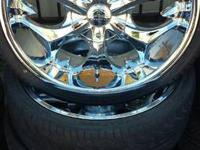 Here i have a set of 20 inch bentchi rims up for sale