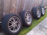 I have four (4) 20x8.5 inch chrome Boss 313 rims for