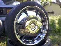 i got a set of 20 inch rims that im trying to sell with