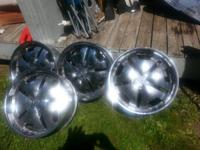 3 complete sets of 20 inch chrome rims. 300 per set.
