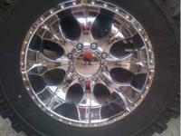 I have a set of (5) 20 inch chrome HELO Maxx8 wheels