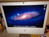 "iMac, 20"" screen. Works great! An awesome present for"