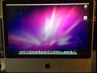 20 inch imac core 2 duo with 1 gig of ram and 500gb