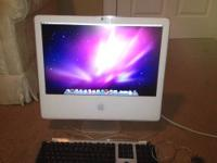 20-inch iMac computer is in great condition and comes