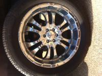 Set of 4 - 20 inch Liquid Metal Motorsports Rims with