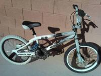 "this is 20"" MONGOOSE K.O. bmx/trick bike.  paint is"