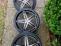 Very nice Montegi rims with 5x4.5 114.3/115 lug pattern