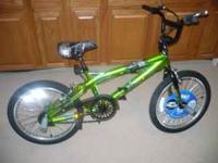 20 inch Next bike. Lights up green, BRAND NEW never