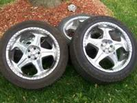 I have 4 chrome Panter rims up for sale (20) inch that