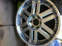 twenty inch wheels for sale six lug came off my 2004