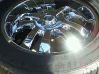 20 inch rims, 6 lugs....Going for $750 or best offer...