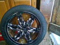 20 Inch rims fits 05 pathfinder. Used still look new.