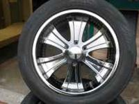 20 INCH BOSS MOTORSPORTS RIMS WITH TOYO TIRES RIMS ARE