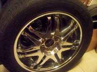 20'' inch rims and tires they come off of a 05 Nissian