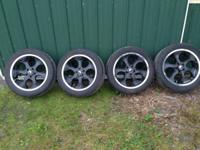 I have a set of 20 inch Velochi wheels and tire for 5
