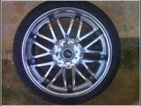 20 INCH UNIVERSAL RIMS/NEW TIRES....FOR SALE....860.00