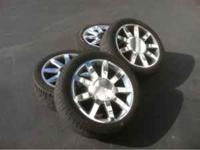 20 inch wheels & tires off Cadillac escalade stock .. 2
