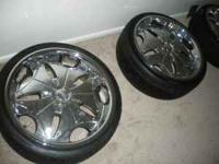 These rims where used last year for 2 months....They r