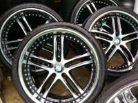 "Universal Rims 20"" Tires Included I had for BMW 2011"