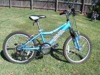 "20"" Iron Horse Mountain Bike/Purchased this year at"