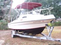This is a great fishing boat with 200 hp merc.,