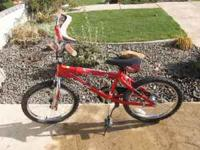 Up for sale is a very nice kids Next Wipeout bike. In