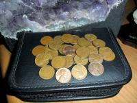 Lincoln Wheat Pennies-1958-P, 1958-D, 1957-P, 1957-D,