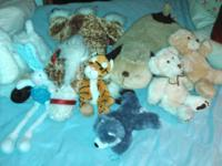 I am offering a big lot of packed animals in good to