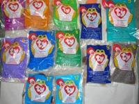 cbd275d747b Ty Beanie Babies Set of 2 Cheeks the Baboon and Bongo the Monkey for ...