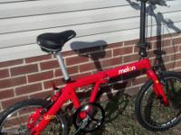 "I have a 20"" Watermelon Slice folding bike forsale."