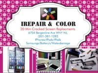 I-Repair & Colour.  Situated @ 6704 Bergenline Ave.