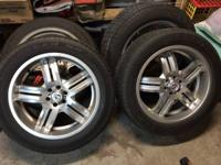 These wheels came off of my 2011 Nissan Frontier, I'm