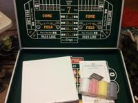 Spartan Sports 4-in-1 Casino Game Table Roulette,