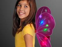 Save 5$ on Butterfly Light Up Wing Costume for Girls by
