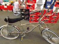 "Bike, 20"" Original Lowrider Frame Chrome, Lowrider Name"