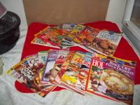 20 Pillsbury classic cookbooks 5.00 for all 20 or 1.00