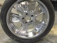 4 Pinnacle Rims and tires for $500  Buyer most pickup